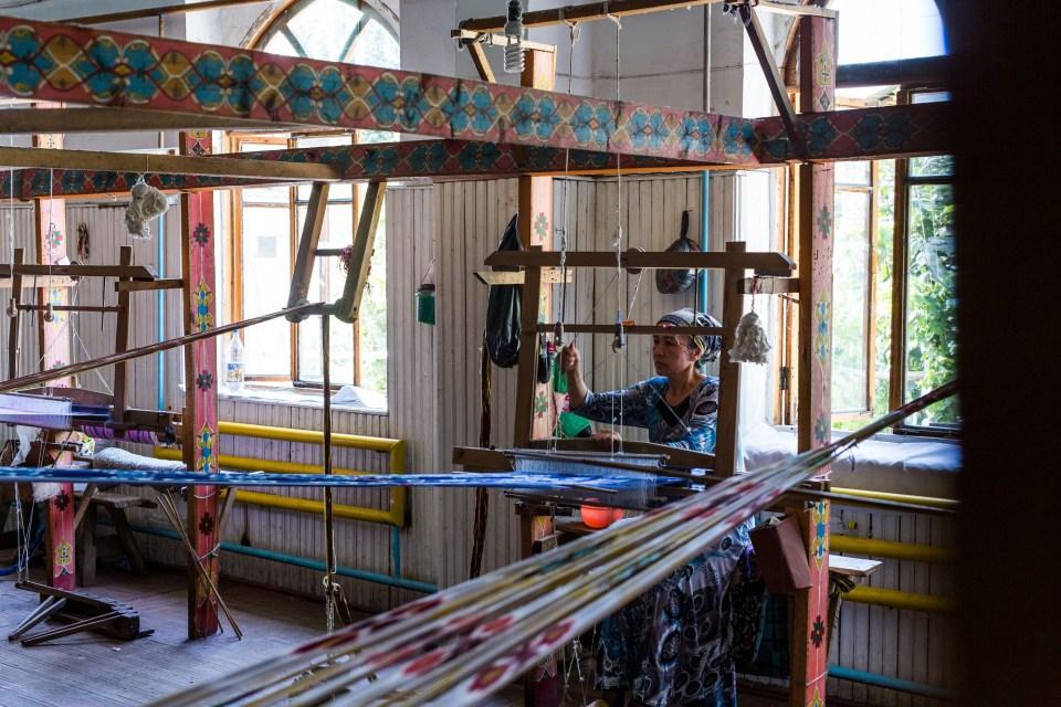 Silk factory, Marguilan - L'artisanat en Ouzbèkistan