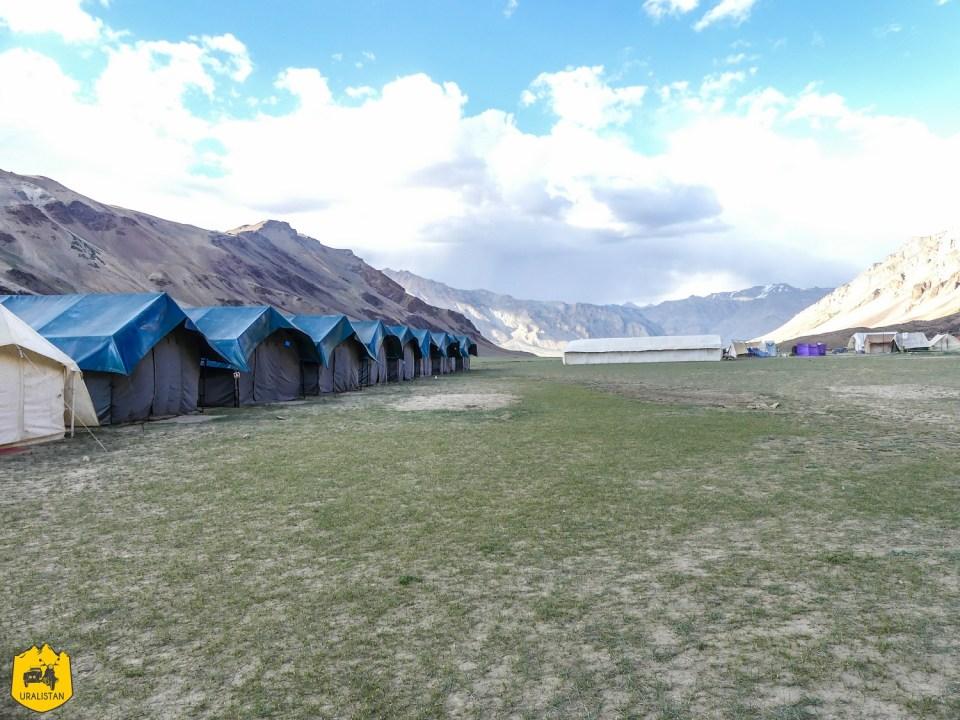 Campement au Ladakh