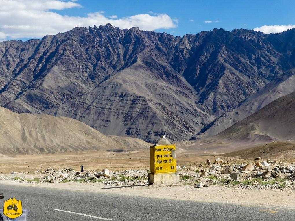 Route du Ladakh entre Kargil et Leh