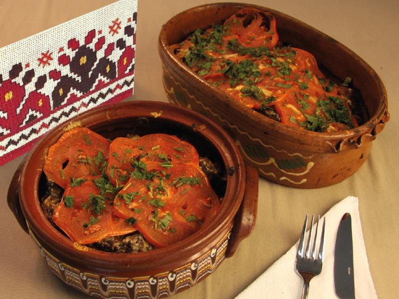 Gastronomie de Macédoine du Nord - Maleshevska tava (pot)