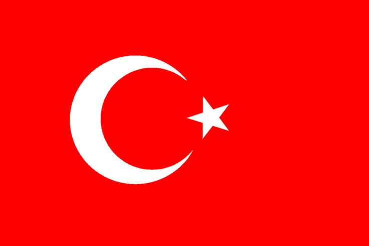 Drapeau Turc, voyage en Turquie