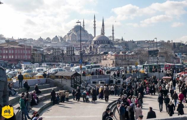 Voyage en Turquie, Eminonu à Istamboul