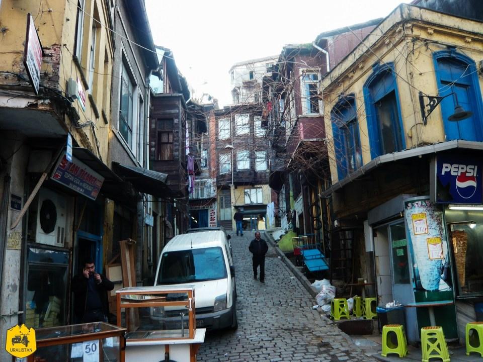 Voyage en Turquie, quartier Fathi à Istamboul