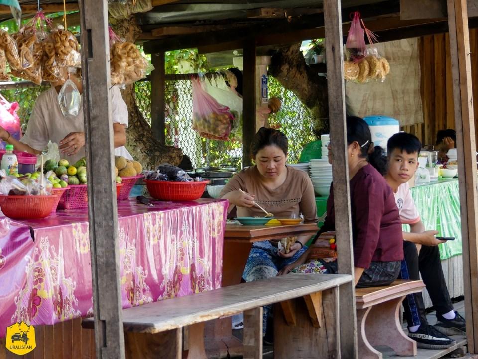 Street food à Luang Prabang, Laos