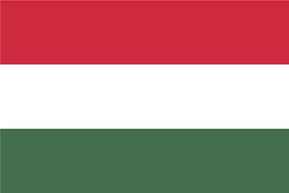 Drapeau hongrois, voyage en Hongrie