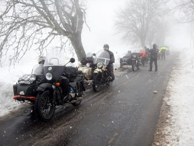 Comment préparer son side-car Ural pour l'hivernage