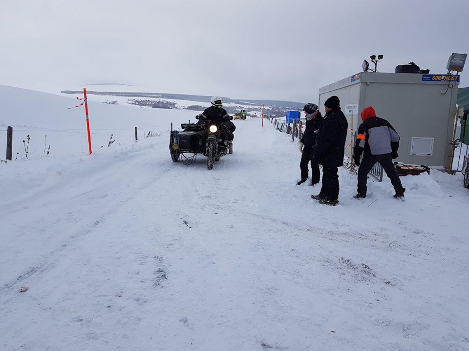 Johnny - side-car Ural