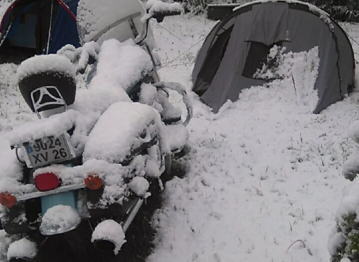 hivernale en side-car Ural