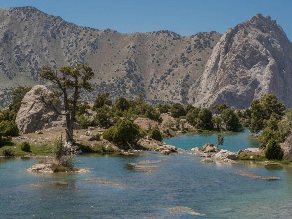 montagnes de fan - Incontournables tadjik, Voyage au Tadjikistan