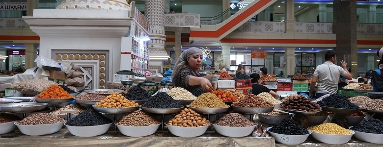 Marché de Douchanbé - Incontournables tadjik, Voyage au Tadjikistan