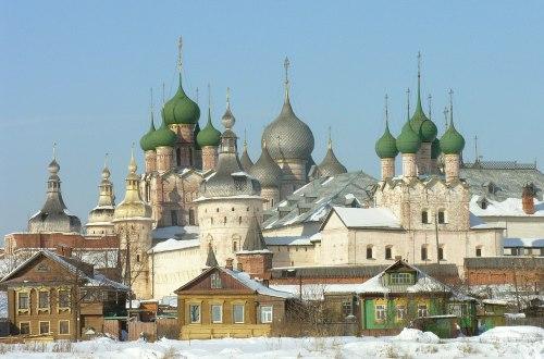 Anneau d'or, Rostov - Incontournables russes, Voyage en Russie