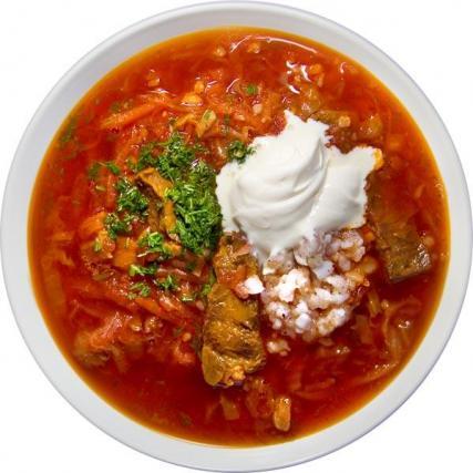 Gastronomie russe, plat traditionnel de Russie : Borchtch