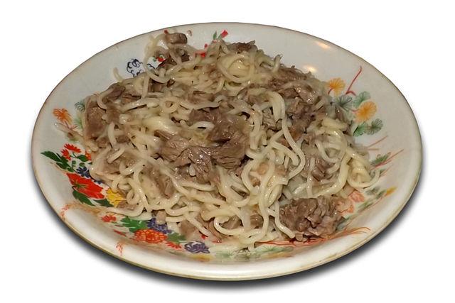 Gastronomie Kirghize, traditionnel du Kirghizistan : Beshbarmak
