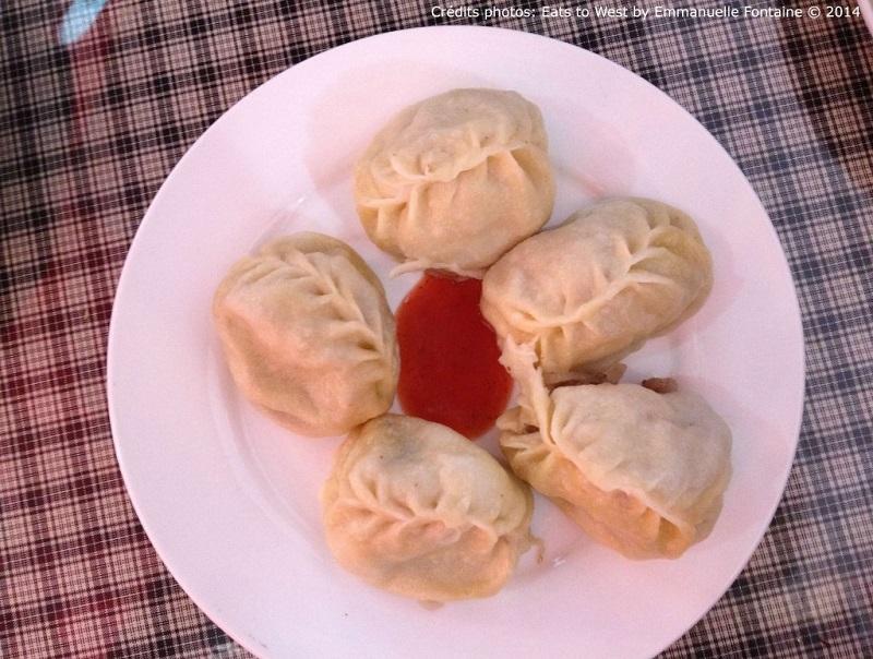 Gastronomie Kirghize, traditionnel du Kirghizistan : Manthy