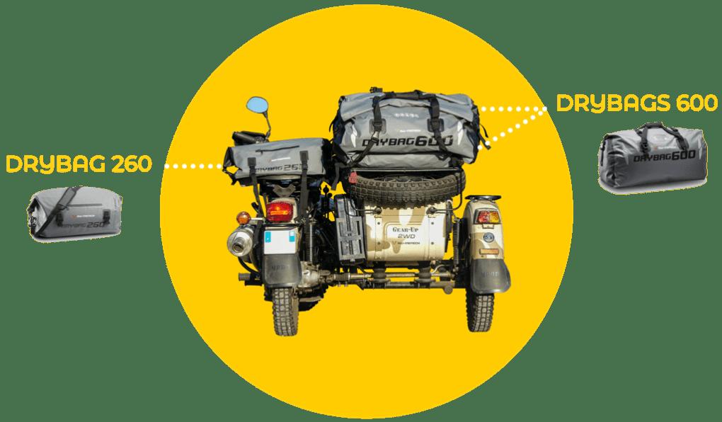 Side-car Ural Ranger et sacoches de selle par SW-Motech - URALISTAN