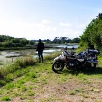 Balade moto en Bretagne sur les terres de merlin