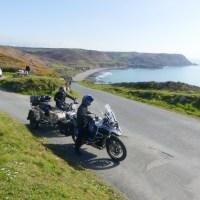 Road trip en moto et side-car Ural à la découverte de la Normandie