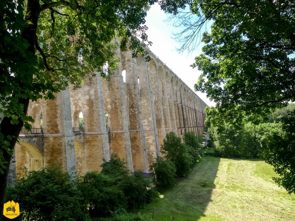 Viaduc de Chaumont - Voyage moto en Haute-Marne - URALISTAN