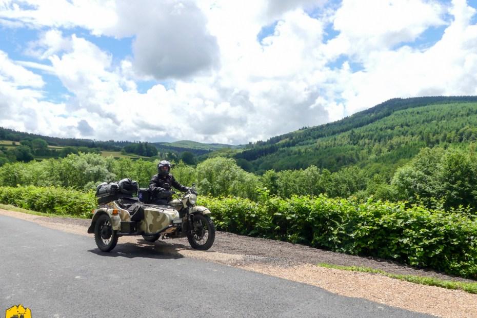 Voyage moto dans le Morvan - URALISTAN