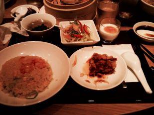 구마모토에서 얻어먹은 중국 코스요리