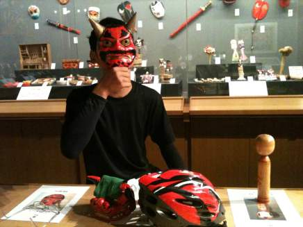 일본 향토완구 박물관 체험코너 (日本郷土玩具博物館, 体験コーナー)