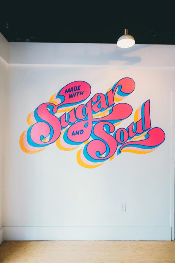 Sugar and Soul Mural
