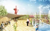 Queen Elizabeth Olympic Park, Londres (Royaume-Uni) par James Corner Field Operations