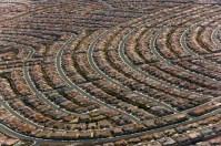Henderson, banlieue sud de Las Vegas, Nevada, États-Unis (35° 60' N – 115° 05' O).