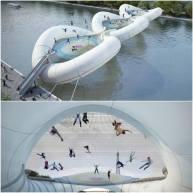 Pont-trampoline AZC Architecture Studio 5