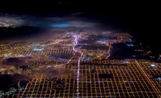 Vicente Laforet vue aérienne de San Francisco3