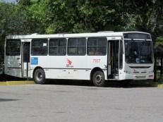 Alguns veículos vieram remanejados da matriz da Coletivos São Cristóvão localizada na cidade de Garanhuns no estado de Pernambuco. Este foi um dos veículos trazidos