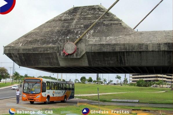 Na Balança do Centro Administrativo da Bahia