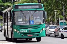 Ônibus da OT Trans em Salvador que foi adquirido em 2014.