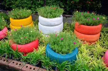 6 Projects that Use Recycled Materials for Your Garden