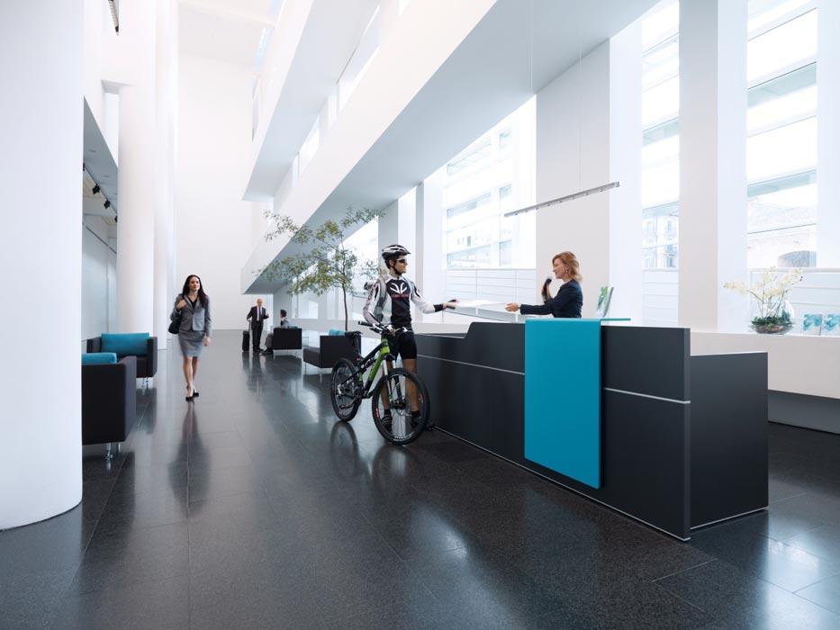 Desk Reception Office Simple