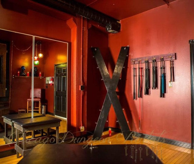 The Red Room Is Just One Of Four Available Rooms For Rent At Chicago Dungeon Rentals