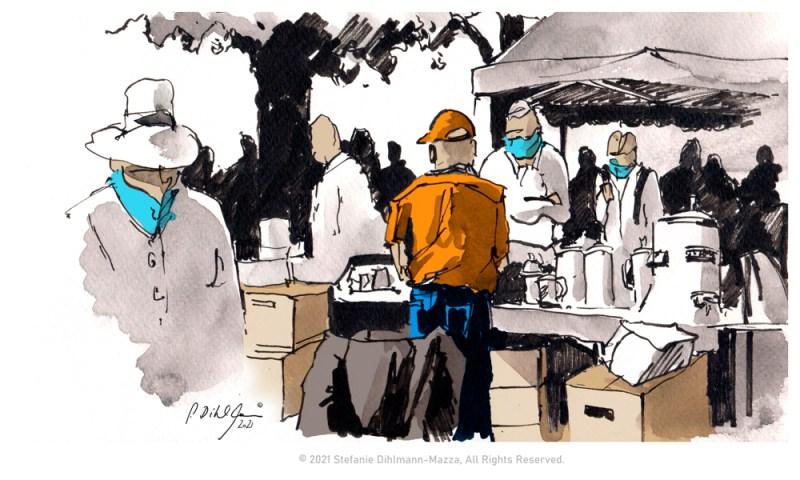 """""""Flohmarkt"""" Sketch von Stefanie Dihlmann-Mazza"""