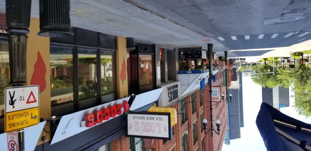 Just a few of the restaurants in history Greektown