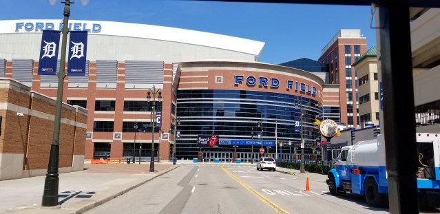 Ford Field, home of the Detroit Lions
