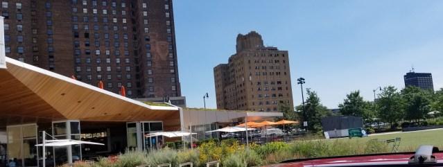 Lumen Restaurant adjacent to Beacon Park