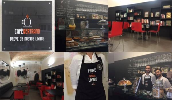 Livros, Vinhos e Petiscos no novo Café Bertrand.