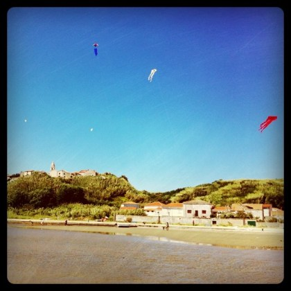 Kite Festival on the island of Susak.