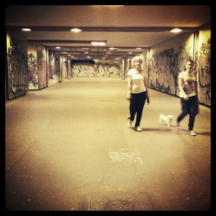 Underpass, somewhere in Novi Zagreb.