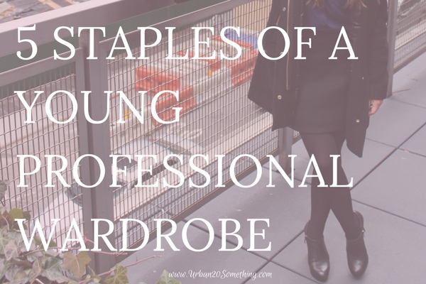 Read your five simple professional wardrobe essential here (includes examples at various price points!)