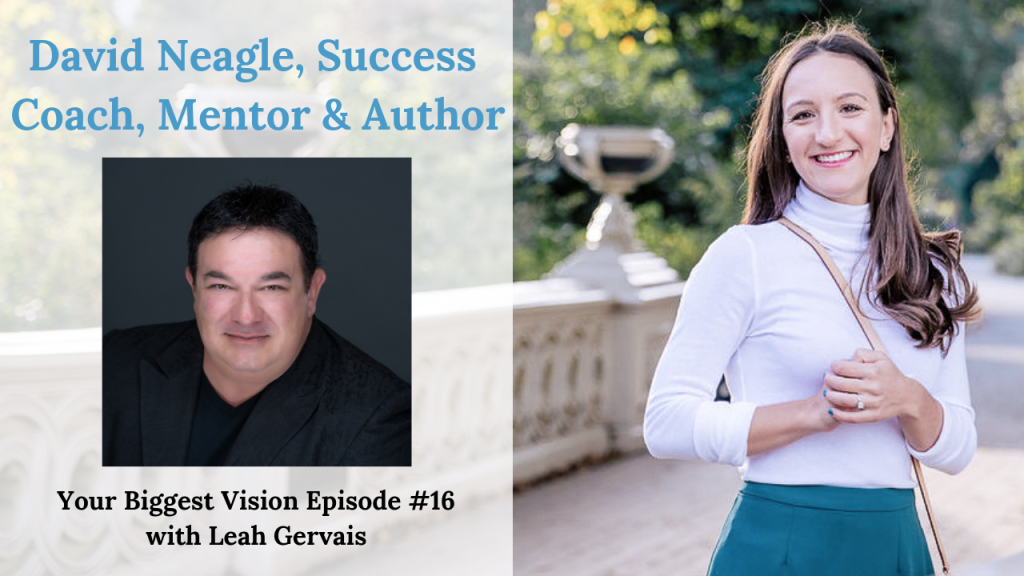 David Neagle is a best-selling author and success coach. After a near-death experience, he transformed his life and income and helps others do the same.