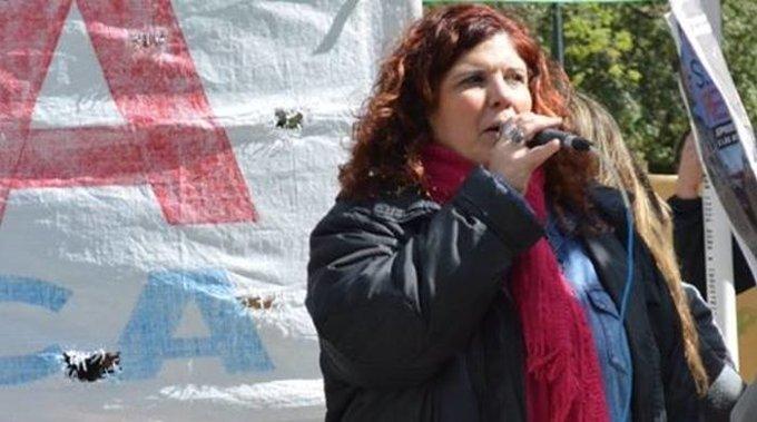 Ana Canullo Secretaria General de SUTEBA