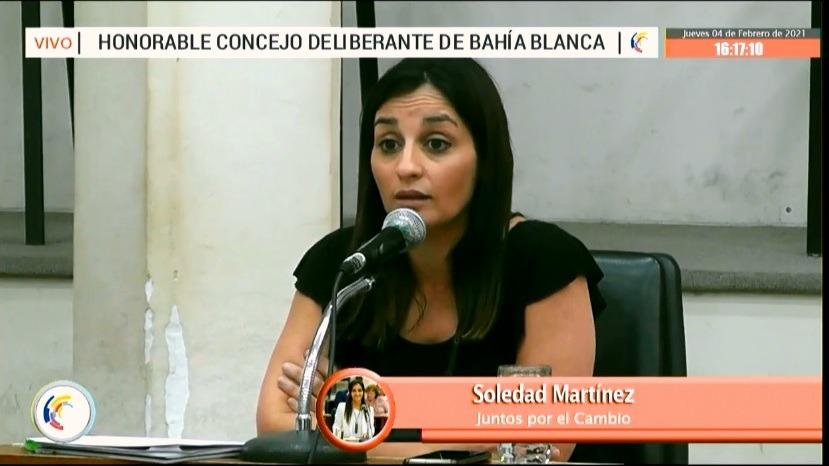 Soledad Martinez Concejala de Juntos por el Cambio