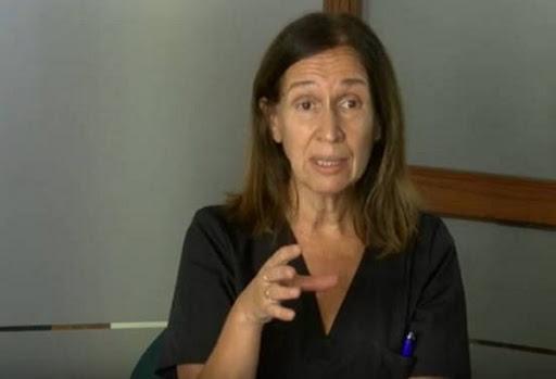 Laura Giordano infectóloga del Hospital Penna
