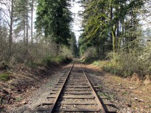 The lonely railroad.