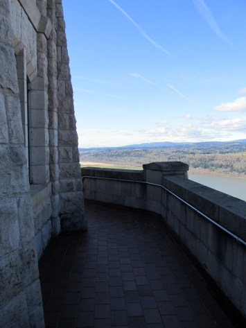 Vista House Balcony